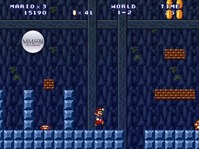 لقطة للعبة سوبر ماريو فور إيفير