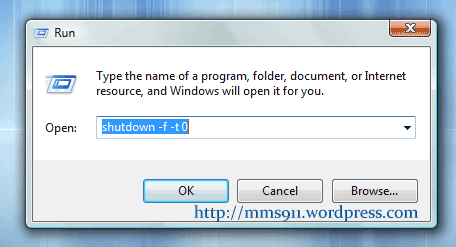 Magic Code For Shuting Windows Very Fast