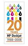 hp celebrates its first home inkjet printer from 20 years ago